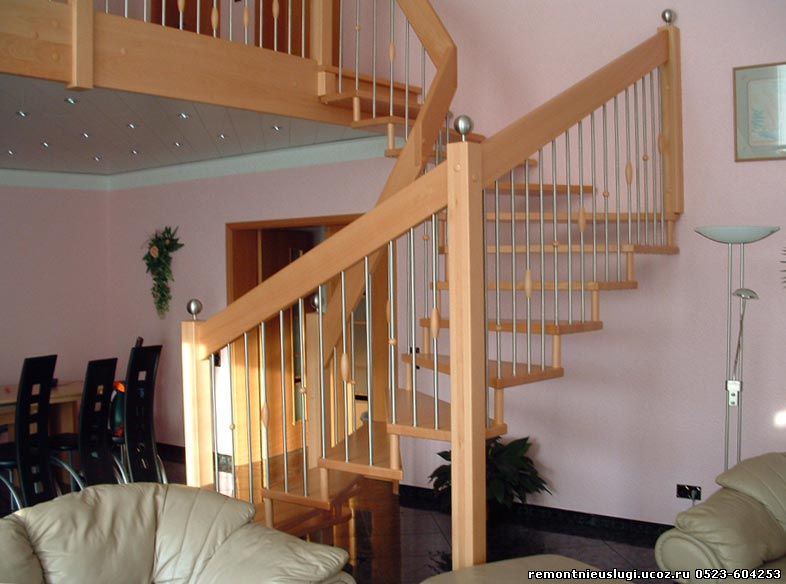 Домашние лестница на заказ